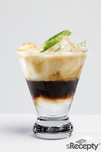 Crema de coco helada