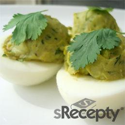 Huevos rellenos con palta