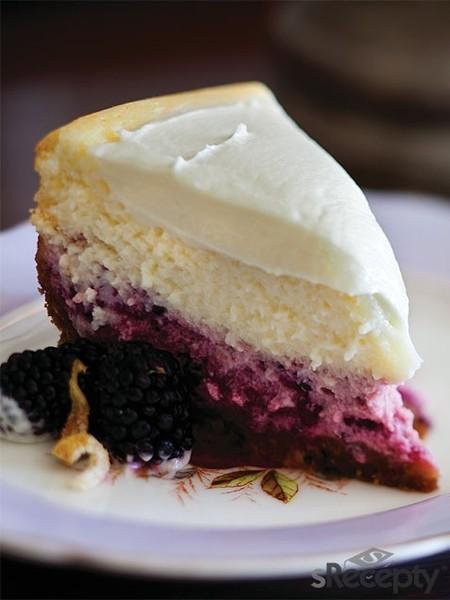 Cheesecake de limón y moras
