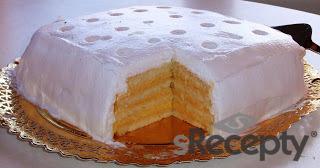 Torta de merengue y naranja