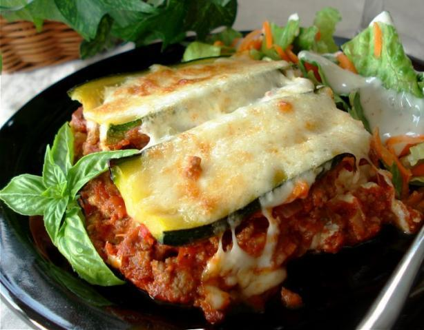 Lasagna de Zucchini