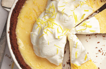 Lemon pie al jengibre