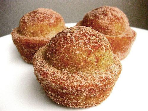 Muffins escarchados