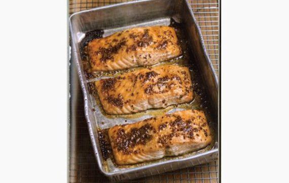 Salmón al horno (cocción lenta)