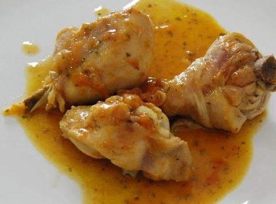 Pollo guisado con verduras y cerveza srecetas es - Pollo de corral guisado ...