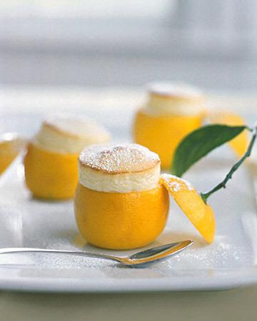 Mini soufflé de limón