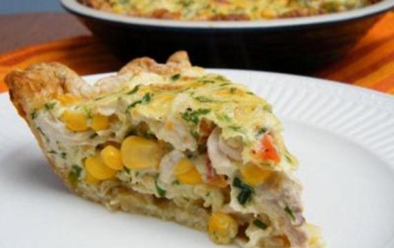 Tarta de pollo y choclo
