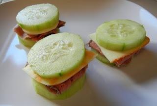 Sandwich de pepino