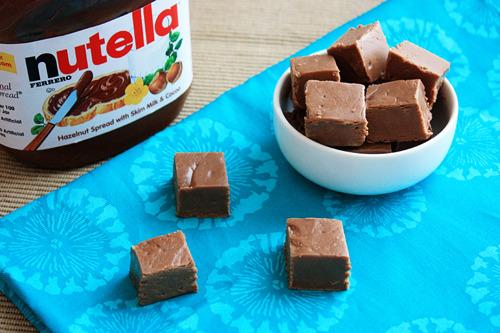 Fudges de Nutella