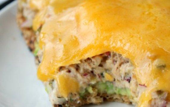 Sandwich de atún diferente