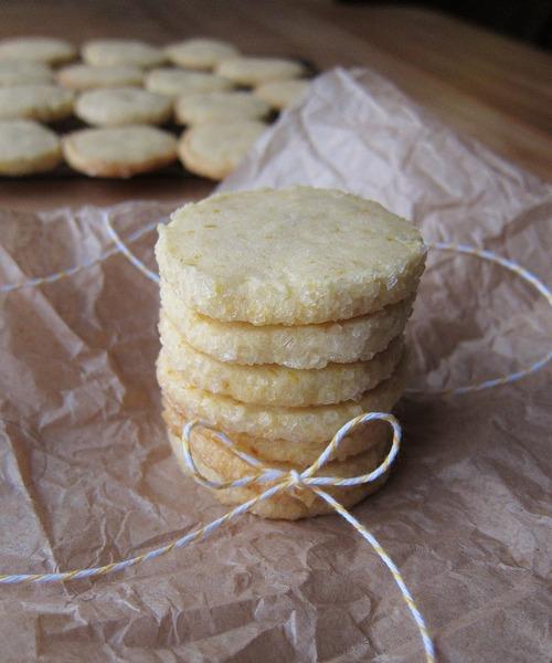 Cookies de manteca y limón