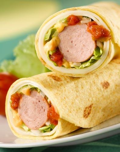 Burritos alemanes