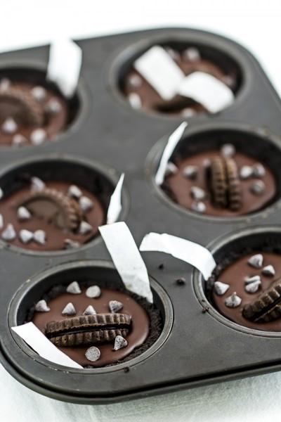 Tartines de chocolate sin cocción