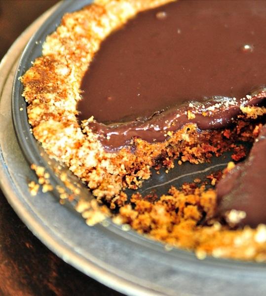 Torta ganache de chocolate espresso