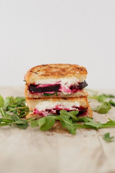 Sandwich de remolacha