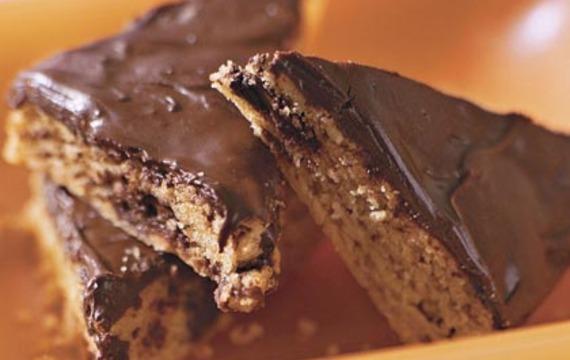 Torta de chocolate y manteca de maní