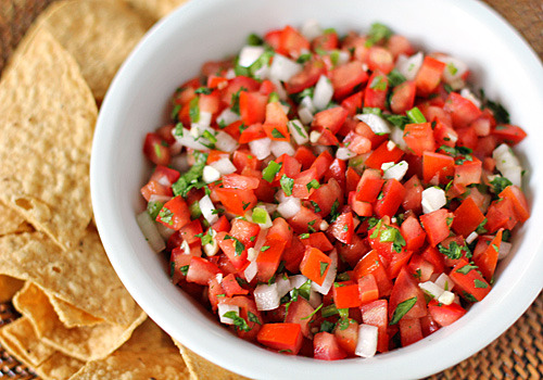 Pico de gallo (receta mexicana)