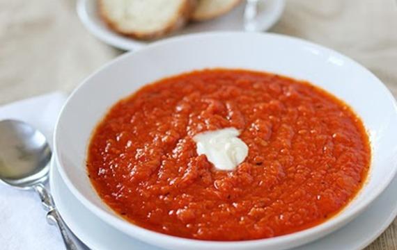Salsa de albahaca, tomate y puerro
