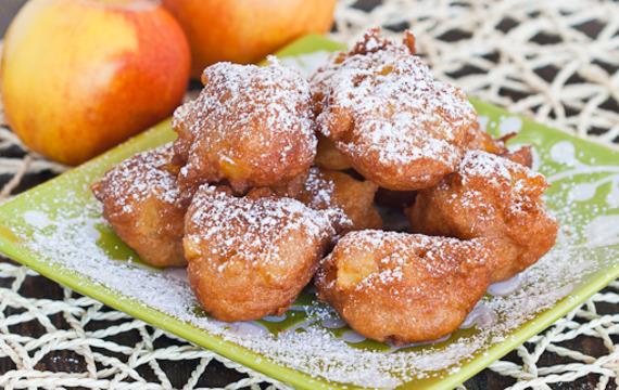 Buñuelitos de manzana