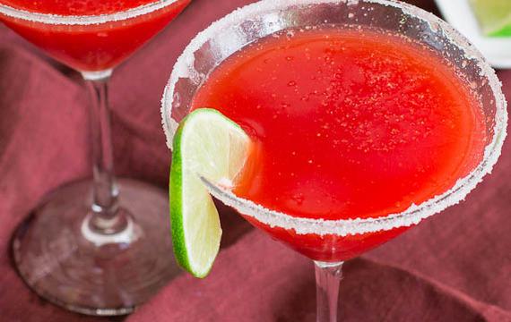 Margaritas de frutillas