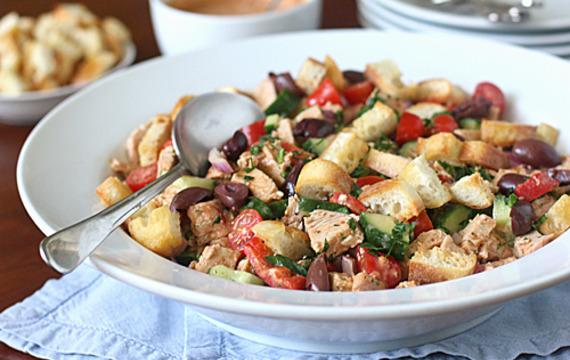 Ensalada de pavo y verduras