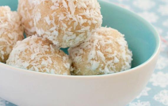 Bolitas blandas de coco