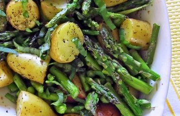Roasted New Potatoes And Asparagus Recipes — Dishmaps