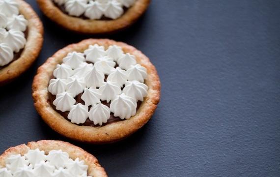 Mini tartitas de nutella