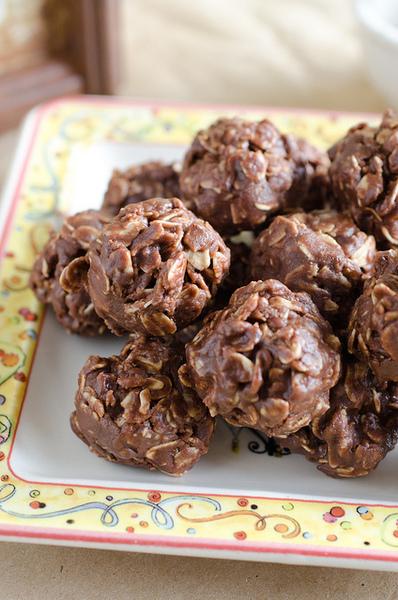 Bolitas de nutella sin cocción