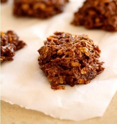 Galletitas veganas de chocolate sin cocción