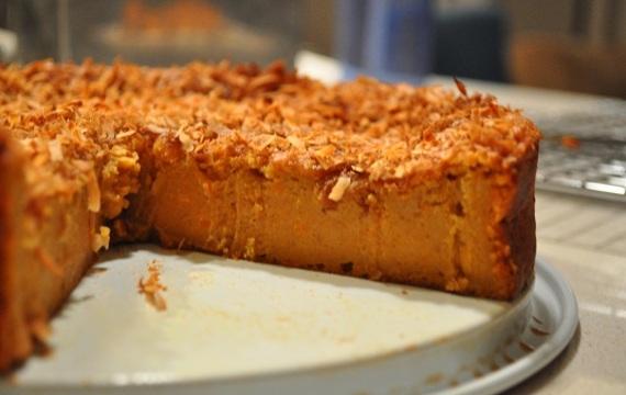 Torta pudding de batata
