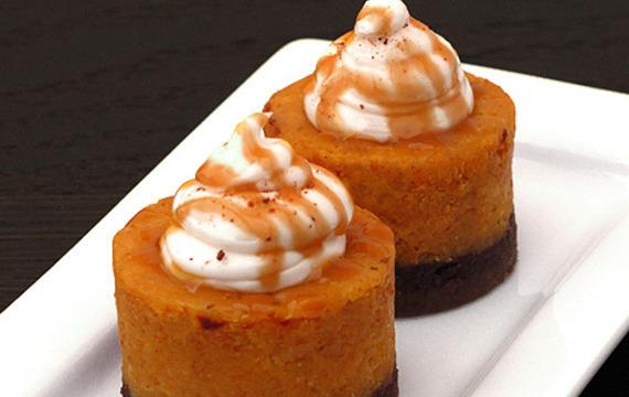 Cheesecake especiado de calabaza