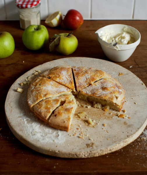 Torta irlandesa de manzanas