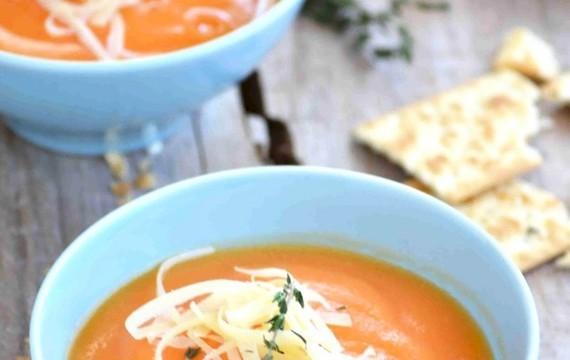 Sopa crema de zanahoria