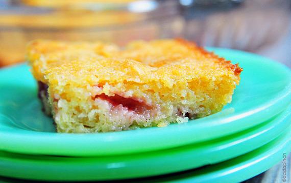 Torta baja de frutillas