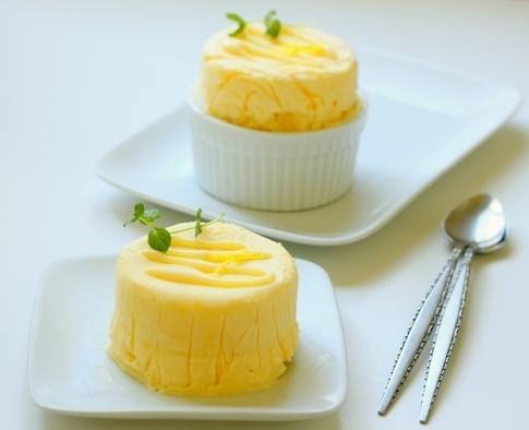 Mousse fácil de limón