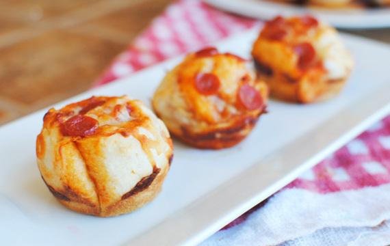 Bolitas de pizza rápidas