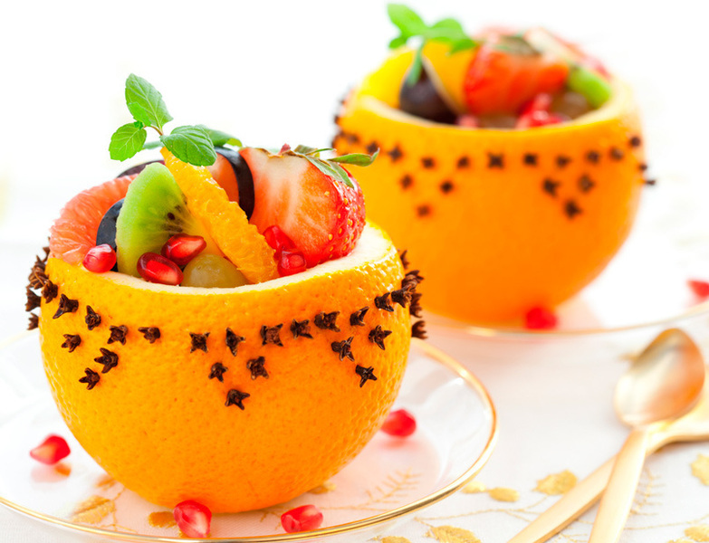 Ensalada de frutas especial srecetas es for Decoracion de ensaladas