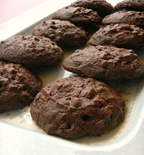 Bizcochos de chocolate