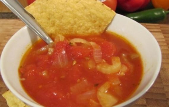 Ensalada de hinojo y tomate