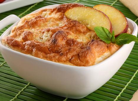 Soufflé de manzanas