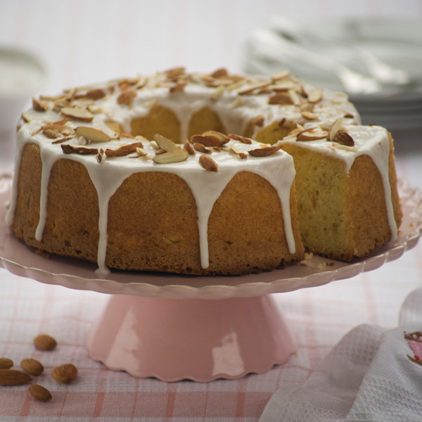 Torta de naranja y almendras