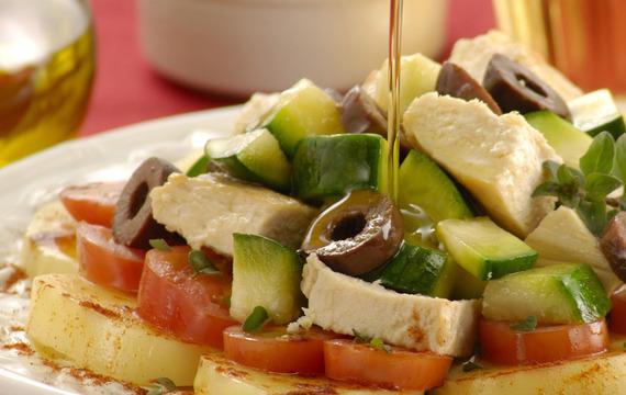 Ensalada mixta de vegetales