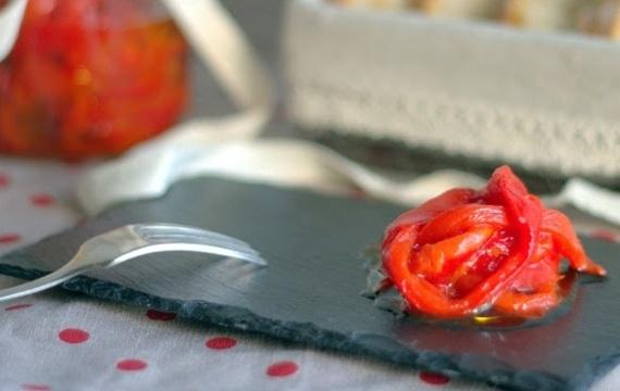 ¿Cómo pelar pimientos asados?