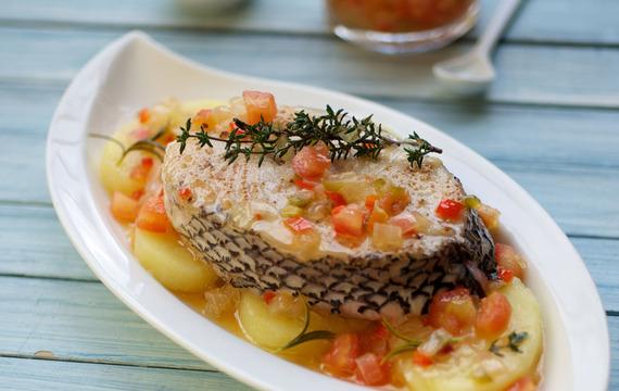 Chupín de salmón blanco