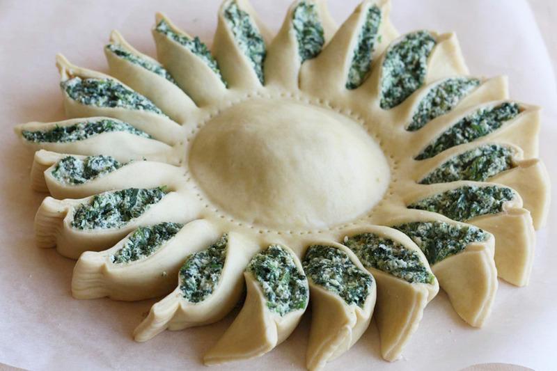 Tarta de espinacas muy fácil