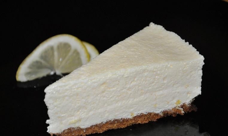 Torta de ricota y limón