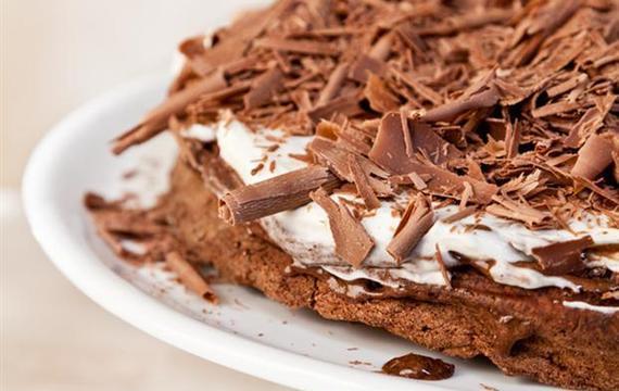 Torta rápida de chocolate