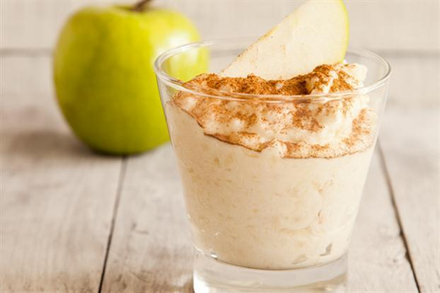 Crema de manzana