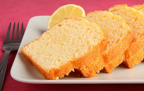 Bizcocho de limón sin huevo